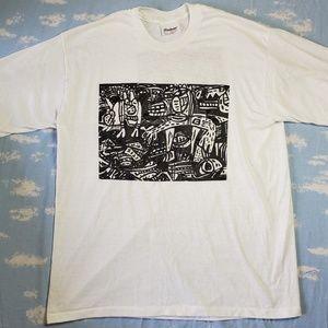 Vintage John Himmelfarb Arm's Length T-Shirt 1982